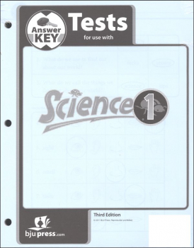 Science 1 Testpack Answer Key 3ED