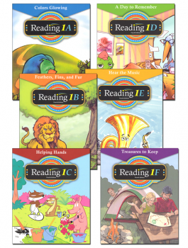 Reader 1A-1F 4th Edition Set