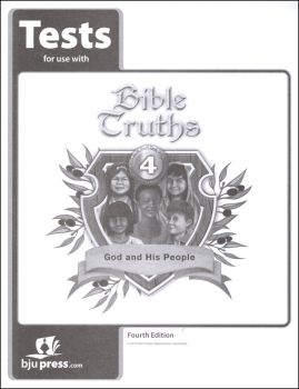 Bible Truths 4 Tests 4th Edition