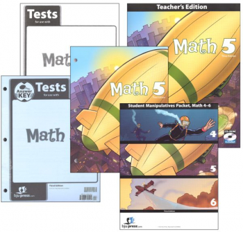 Math 5 Home School Kit 3ED