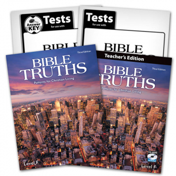 Bible Truths Level F Home School Kit 3rd Edition
