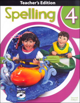 Spelling 4 Teacher Book & CD 2nd Edition
