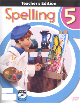 Spelling 5 Teacher Book & CD 2nd Edition