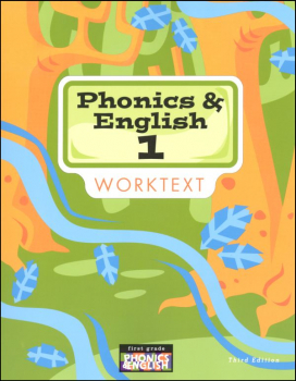 Phonics & English 1 Worktext 3rd Edition