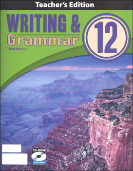 Writing/Grammar 12 Teacher Book & CD 3rd Edition