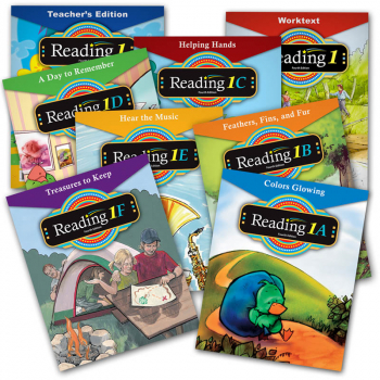 Reading 1 Home School Kit 4th Edition