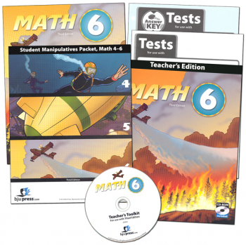 Math 6 Home School Kit 3rd Edition