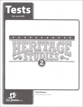 Heritage Studies 2 Tests 3rd Edition