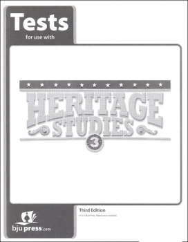 Heritage Studies 3 Tests 3rd Edition