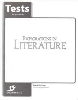 Explorations in Literature 7 Tests 4th Edition