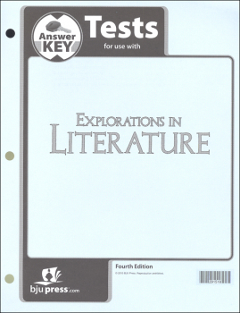 Explorations in Literature 7 Tests Answer Key 4th Edition