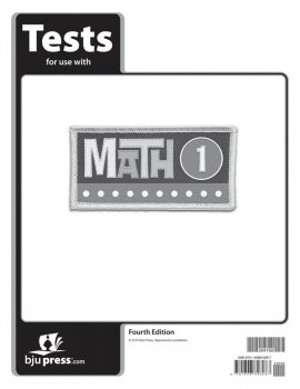 Math 1 Test Pack 4th Edition