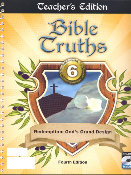 Bible Truths 6 Teacher Edition Book & CD 4th Edition