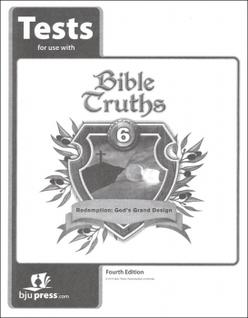Bible Truths 6 Tests 4th Edition