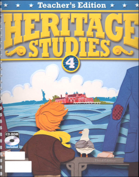 Heritage Studies 4 Teacher Edition Book & CD 3rd Edition