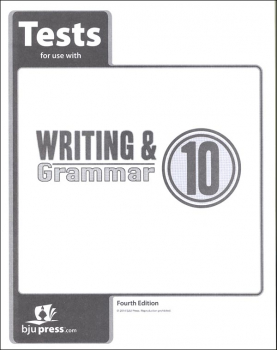 Writing/Grammar 10 Test 4th Edition