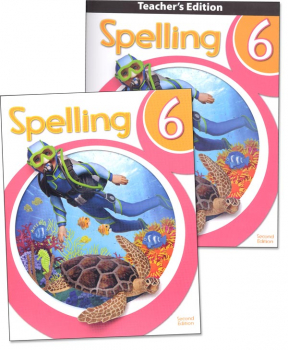 Spelling 6 Home School Kit 2nd Edition