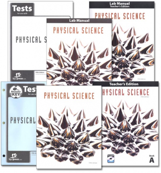 Physical Science Home School Kit 5th Edition