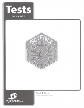 Science 3 Tests 4th Edition