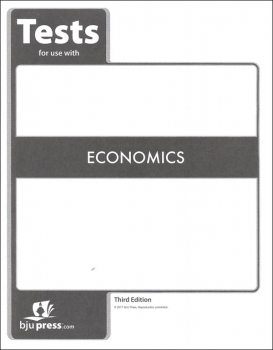 Economics Tests 3rd Edition