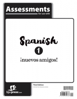 Spanish 1 Assessments 3rd Edition