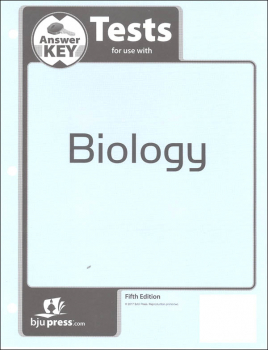 Biology Tests Answer Key 5th Edition