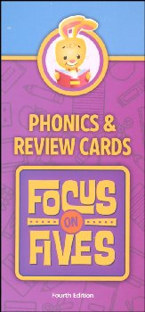 Focus on Fives K5 Phonics and Review Cards 4th Edition