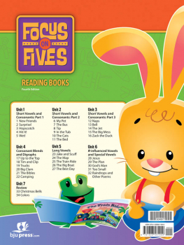 Focus on Fives Reading Books for K5 (34 books; 4th Edition)