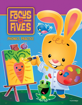 Focus on Fives Phonics Practice for K5 4th Edition