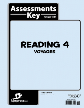 Reading 4 Assessments Answer Key 3rd Edition
