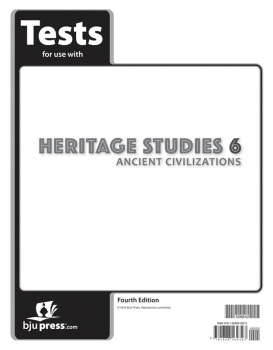 Heritage Studies 6 Tests 4th Edition