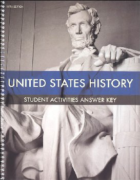 United States History Student Activities Answer Key 5th Edition