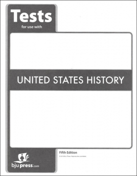 United States History Tests 5th Edition