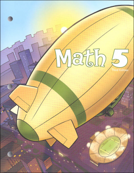 Math 5 Student Worktext 3rd Edition (copyright update)