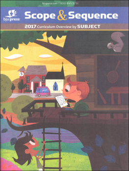 Scope & Sequence 2017 Curriculum Overview