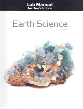 Earth Science Teacher's Edition Lab Manual 5th Edition