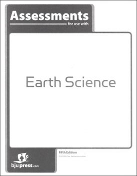 Earth Science Assessments 5th Edition