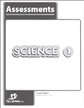 Science 1 Assessments 4th Edition