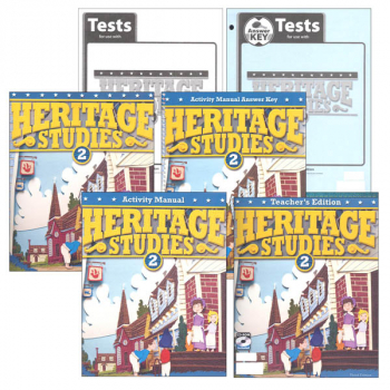 Heritage Studies 2 Home School Kit 3rd Edition (updated)