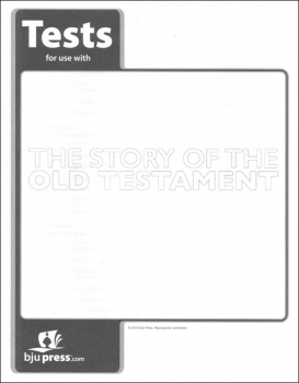 Bible 7: Story of the Old Testament Tests 1st Edition