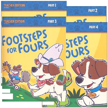 Footsteps for Fours Teacher Edition 3rd Edition