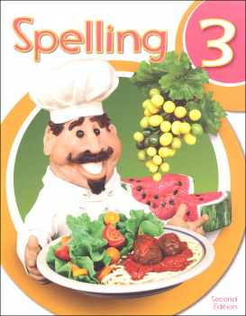 Spelling 3 Student Worktext 2nd Edition (copyright update)