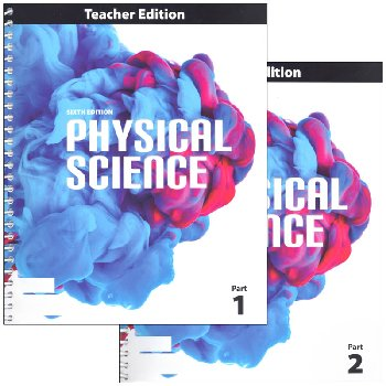 Physical Science Teacher Edition 6th Edition