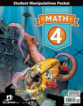 Math 4 Student Manipulatives Packet 4th Edition