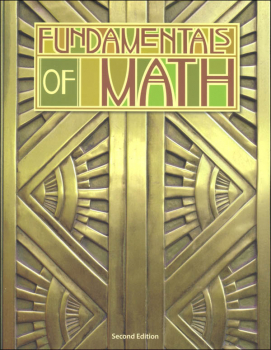 Fundamentals of Math Student Text 2nd Edition