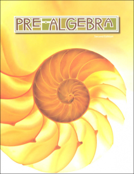 Pre-Algebra Student Text 2nd edition 3