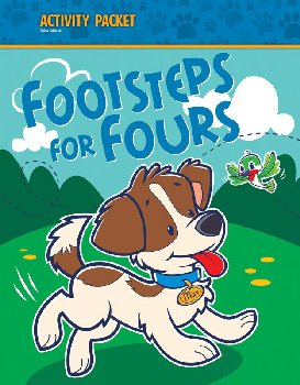 Footsteps for Fours Activity Packet 3rd Edition