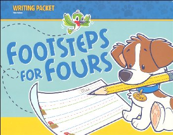 Footsteps for Fours Writing Packet 3rd Edition