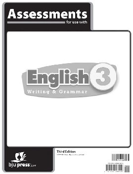 English 3 Assessments 3rd Edition