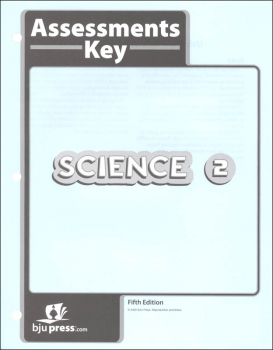 Science 2 Assessments Answer Key 5th Edition
